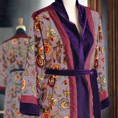 Marlene Velvet Dressing Gown