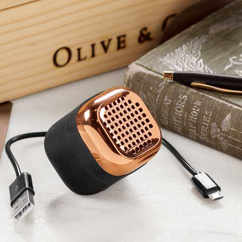 Copper Mini Speaker All Gifts Olive Amp Cocoa