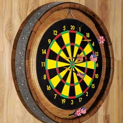 Oak Cask Pub Dart Set