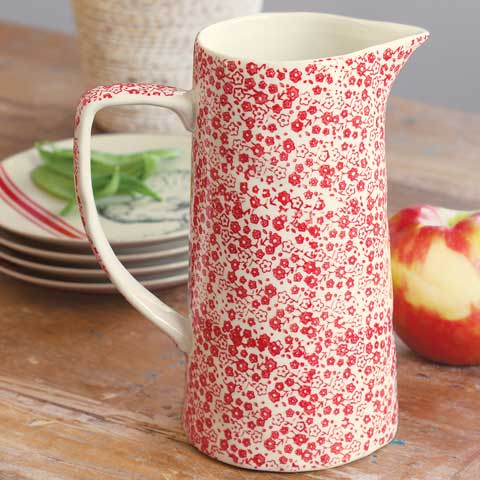 Prairie Rose Farmhouse Pitcher