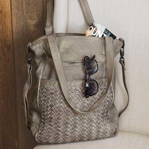 Peyton Weave Handbag