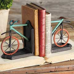 La Bicyclette Bookends