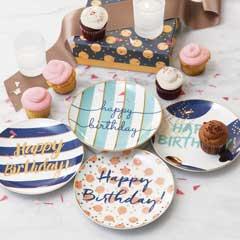 Birthday Celebration Plates