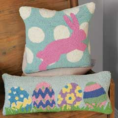 Jumping For Joy And Easter Parade Pillows