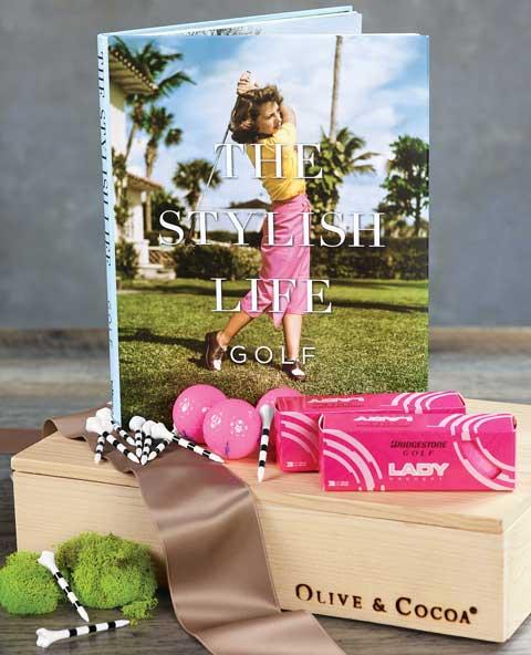 Pink Fairway Golf Crate