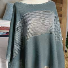 Calliste Crocheted Poncho