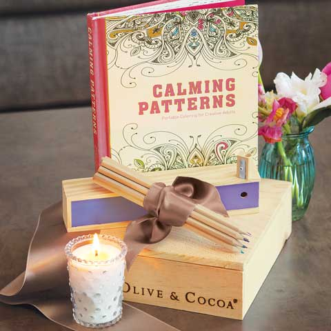 Calming Colors Crate