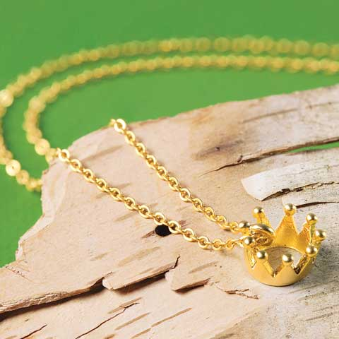 Precious Crown Necklace