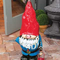Cheerful Garden Gnome