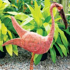 La Bonita Flamingo Sculpture