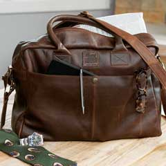 Santiago Leather Briefcase