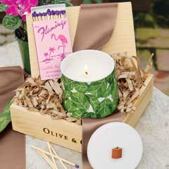 Bungalow Candle & Matches