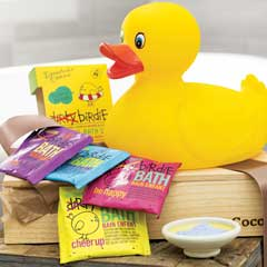 Quackers Bath Time Set