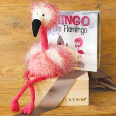 Fluffy Flamingo & Storybook