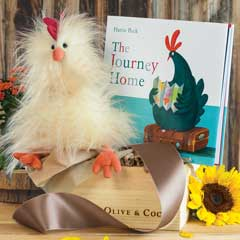 Cluck Cluck Plush & Storybook