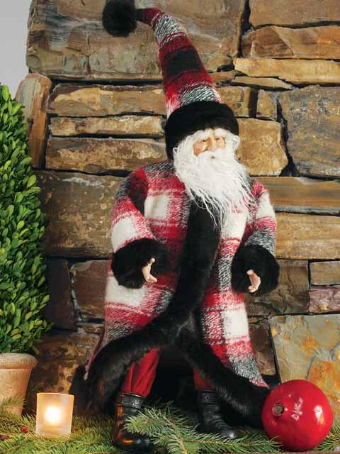 Dashing Santa Claus