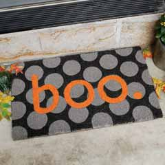 Boo Who Door Mat