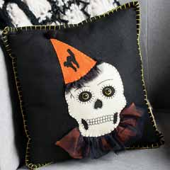 Frightfully Fancy Pillow