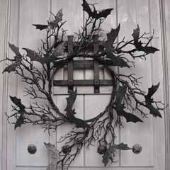 Twilight Bat Wreath