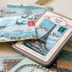 Joyeux Noel Vintage Postcards