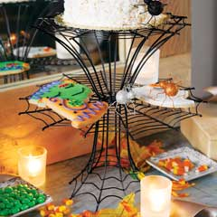 Sparkling Spiders Tiered Server