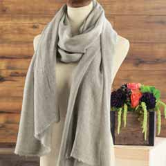 Heathered Cashmere Scarf