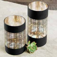 Geo Lit Cylinders