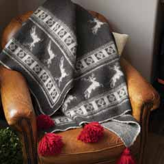 Stag Lodge Throw