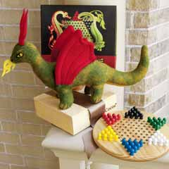 Fierce Dragon & Chinese Checkers