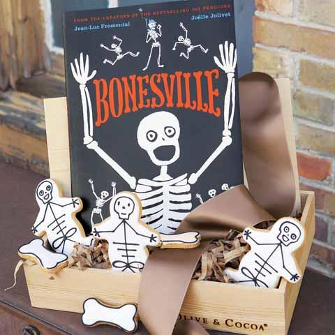 Skeleton Cookies & Storybook
