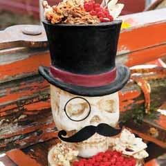 Sir Chillingham Skull & Sweets