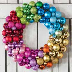 Merry & Bright Wreath
