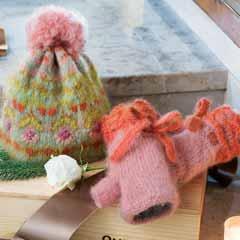 Alpine Jardin Hat & Hand Warmers