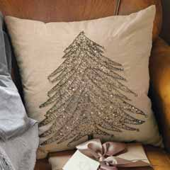 Bells & Boughs Pillow