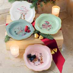Winter Wishes Plate Set