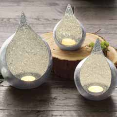 Silvered Luminary Trio