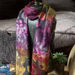 Heirloom Garden Wool Scarf