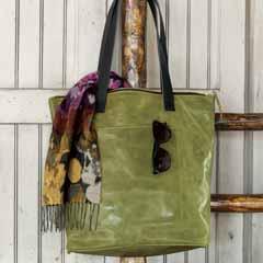 Jade Leather Handbag