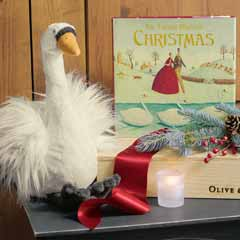Twelve Days Of Christmas Storybook & Swan