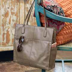 Asher Leather Tote