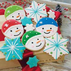 Snowflakes and Friends Cookies