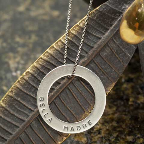 Bella Madre Sterling Silver Necklace