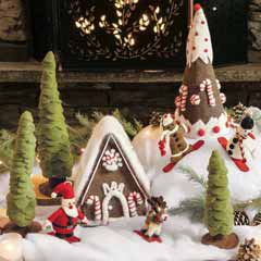 Santa's Ski Chalet