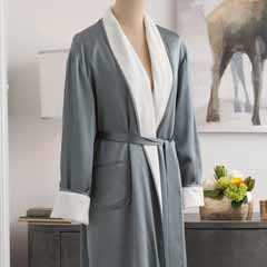 Silk & Terry Robe