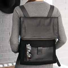Hailey Leather Backpack