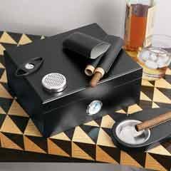 Humidor & Cigar Tools Set