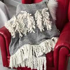 Modern Woven Throw