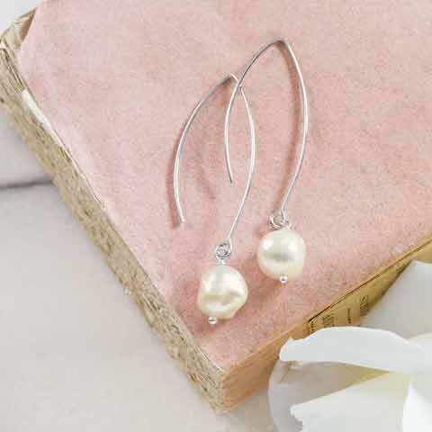 Empress Baroque Pearl Earrings