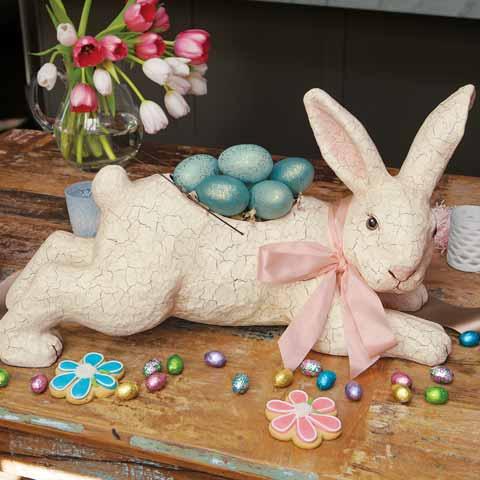 Bunny Hop Basket & Eggs