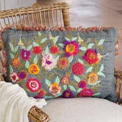 Tapestry Garden Pillow
